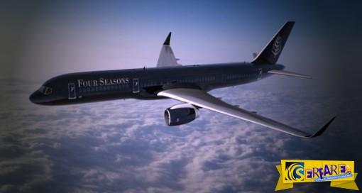 Four Seasons: Το υπερπολυτελές αεροπλάνο - ξενοδοχείο!