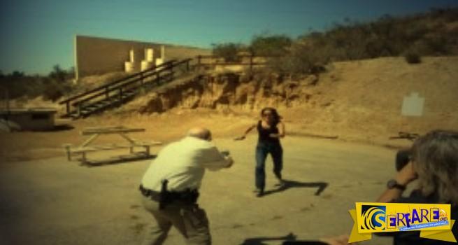 Πως το μαχαίρι υπερισχύει σχεδόν πάντα εναντίον ενός οπλισμένου αστυνομικού!