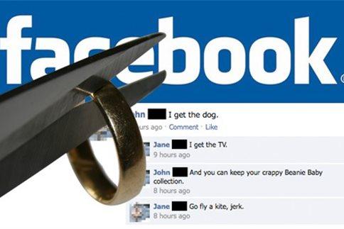 Νόμιμη η αποστολή της αίτησης διαζυγίου μέσω... Facebook!