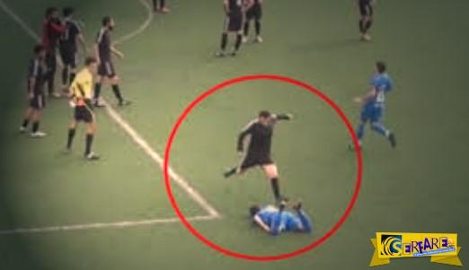 Πρωτοφανή επεισόδια και πολύ ξύλο σε ποδοσφαιρικό αγώνα στην Πάρο! Μέχρι και οι ποδοσφαιριστές παρακαλούσαν τους οπαδούς να σταματήσουν!