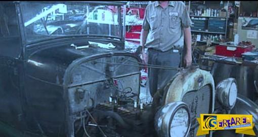 Πως γίνεται το λάδι μηχανής μετά από 50 χρόνια ακινησίας;