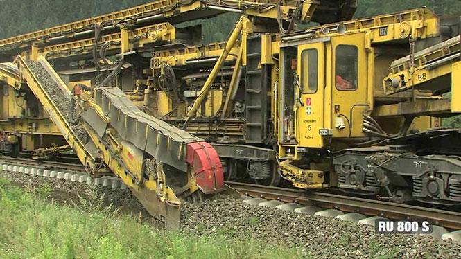 Η σειρά μηχανημάτων που στρώνει σιδηρόδρομους!