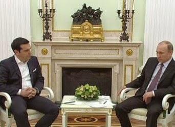 Nα τι είπε ο Τσίπρας στον Πούτιν μόλις τον είδε! Η απάντηση του Μεγάλου Ηγέτη...