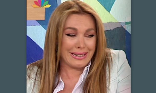 Ξέσπασε σε λυγμούς η Τατιάνα Στεφανίδου on air! - Τι συνέβη;