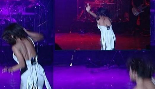Απίθανη τούμπα Ελληνίδας τραγουδίστριας στην πρεμιέρα!