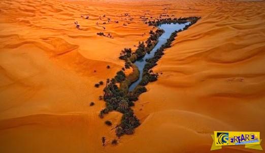 Ubari: Μια εντυπωσιακή όαση στην έρημο Σαχάρα!