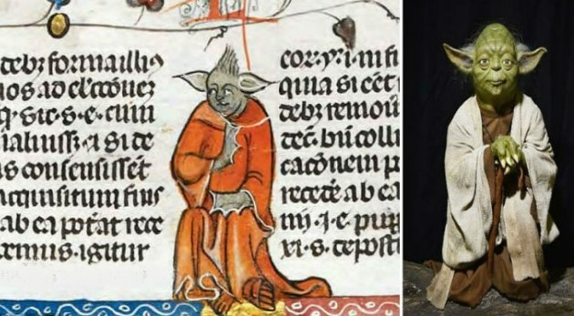 Yoda: ο ήρωας του Star Wars «κρυμμένος» σε ένα μεσαιωνικό χειρόγραφο;