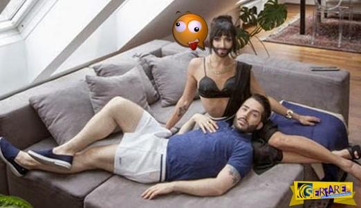 Η Conchita και ο σύζυγός της όπως δεν φαντάζεστε!