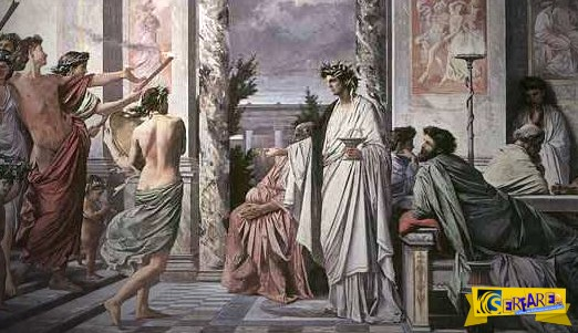 Ανέκδοτο: O Θεός και οι Έλληνες!