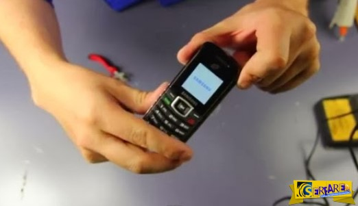 ΕΤΣΙ ΔΕΝ θα ξαναφορτίσεις το κινητό σου ποτέ! Δες την απίστευτη πατέντα στο βίντεο...