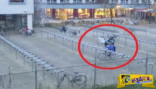 Δείτε τι συμβαίνει στα σχολεία της Ολλανδίας μεταξύ 8:00 και 8:30 το πρωί!
