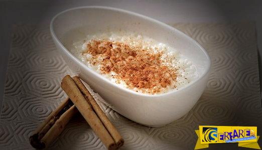 Φτιάξτε υπέροχο ρυζόγαλο εύκολα και γρήγορα!