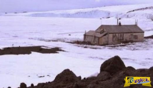 Βρήκαν ένα σπίτι στα βάθη της παγωμένης Ανταρκτικής, στους -93 °C ... Δεν φαντάζεστε τι είδαν μέσα!