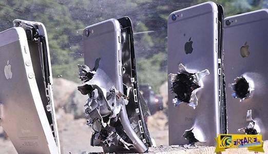 Πόσα iPhones χρειάζονται για να σταματήσουν ένα Καλάσνικοφ;