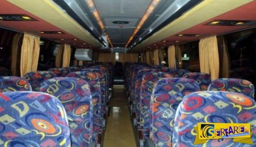Ποιο ΒΡΩΜΙΚΟ μυστικό κρύβουν τα περίεργα σχέδια στα καθίσματα των λεωφορείων;