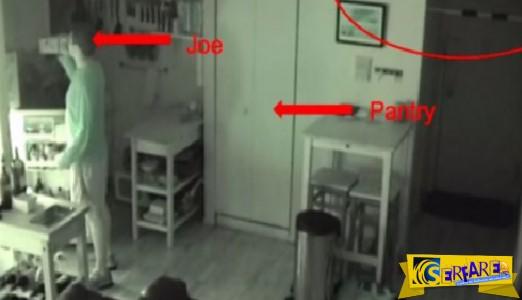 Άκουγε θορύβους στην κουζίνα κι όταν έβαλε κάμερα τρόμαξε πραγματικά...