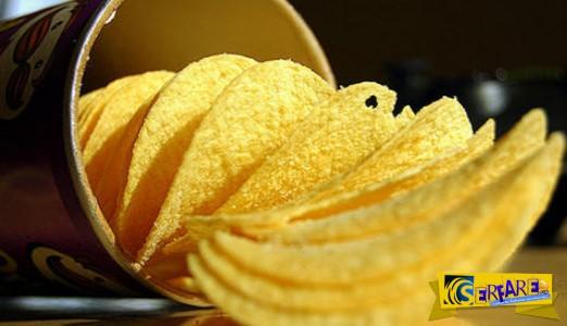 Καρκίνος σε κουτί: Τι καταγγέλλουν για τα πατατάκια Pringles. Τι περιέχουν ...