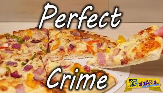 Πώς να «κλέψετε» τη μισή πίτσα χωρίς να το καταλάβει κανείς!