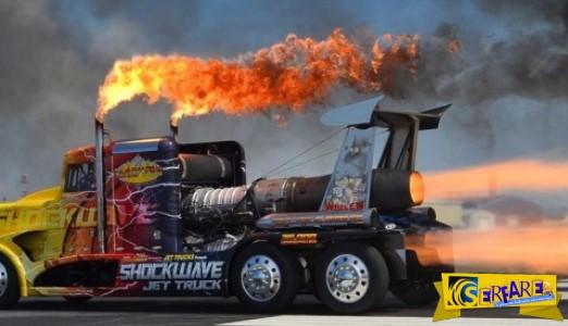 Shockwave: Το πιο γρήγορο φορτηγό στον κόσμο!