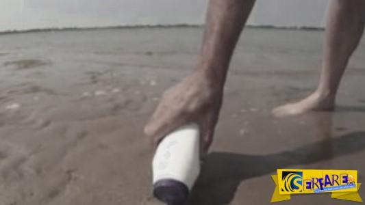 Έριξε αλάτι στην παραλία και δείτε τι παράξενο συνέβη!