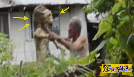 Εξωγήινος επιτίθεται σε άνθρωπο στις Φιλιππίνες…