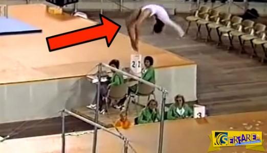 Αυτή η αθλήτρια είναι φτιαγμένη από λάστιχο! Δεν εξηγείται αλλιώς αυτό που θα δείτε στο βίντεο!