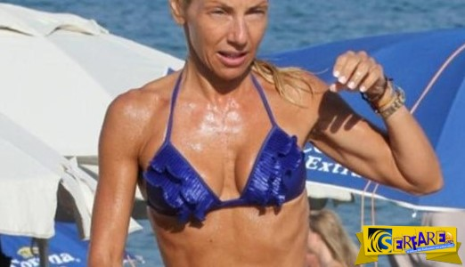Έλενα Τσαβαλιά: Τόρλες σε παραλία της Νάξου!