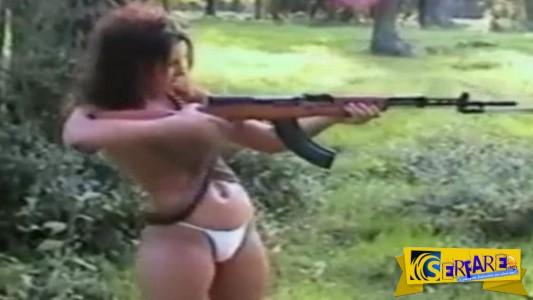 Τελικά ο πιο επικίνδυνος συνδυασμός είναι γυναίκα & όπλο!