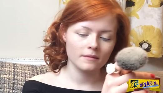 19χρονη τυφλή παραδίδει μαθήματα μακιγιάζ και κάνει το διαδίκτυο να «λυγίσει»