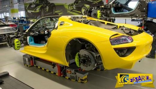 Συναρπαστικό! Δείτε την εντυπωσιακή διαδικασία συναρμολόγησης μιας Porsche 918 Spyder!