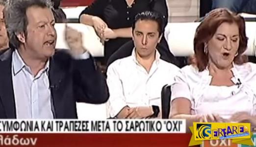 «Μαλλιά-κουβάρια» έγιναν στον αέρα Φωτίου – Τατσόπουλος!