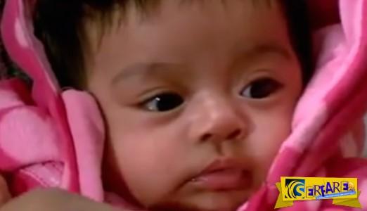 Δύο εγκληματίες προσπάθησαν να απαγάγουν αυτό το μωράκι. Δείτε όμως ποιος το έσωσε!