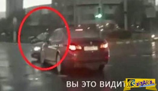 Απίστευτο! Το αυτοκίνητο φάντασμα που εμφανίζεται από το πουθενά!
