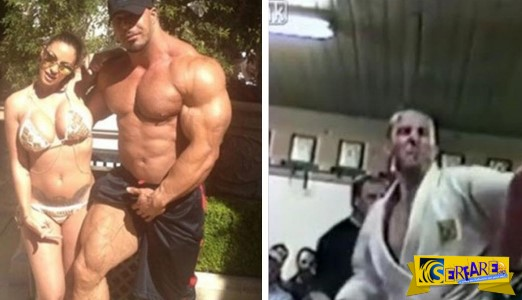 Bodybuilder 113 κιλών τα βάζει με αθλητή μαύρης ζώνης στο Jui Jitsu! Δείτε τι έγινε ...