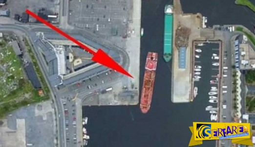 Το αριστουργιματικό «παρκάρισμα» ενός καπετάνιου σε λιμάνι της Ιρλανδίας!