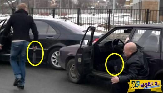 Καυγάς με τσεκούρια και πυροβολισμούς σε ρωσικό δρόμο!