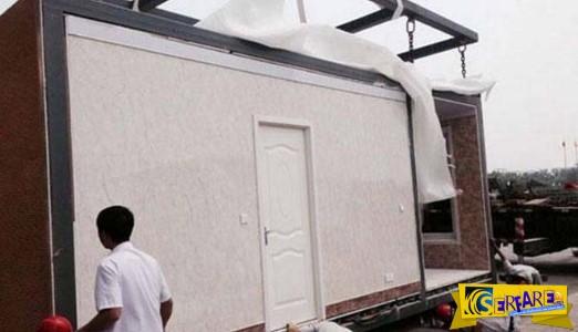 Κινεζική εταιρεία κατασκευάζει σπίτια σε 3 ώρες!