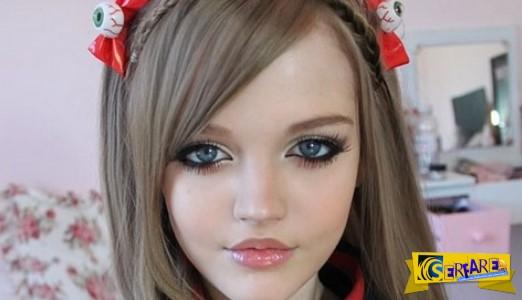 Αυτό το 16χρονο κορίτσι είναι μια πραγματική Μπάρμπι!