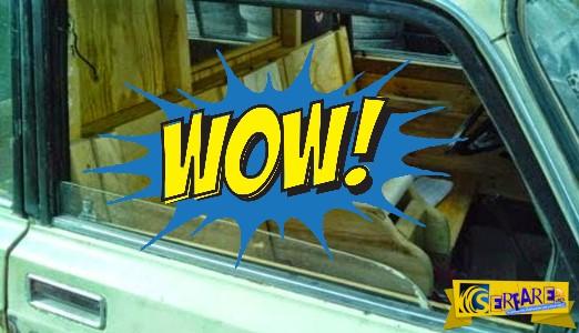 Αυτή την πατέντα ΜΟΝΟ ΕΛΛΗΝΑΣ! Δείτε τι έκανε στο αμάξι του...