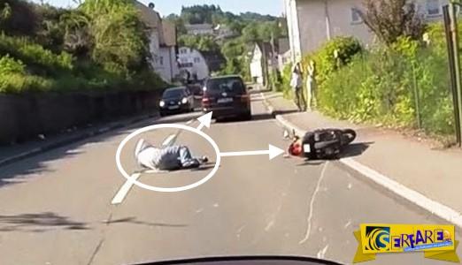 Βίντεο ΣΟΚ! – Τον χτύπησε ΕΠΙΤΗΔΕΣ και τον παράτησε στο δρόμο!