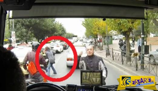 Τα είδε όλα ο οδηγός του λεωφορείου του ΟΑΣΑ….