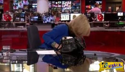Το... ατύχημα της παρουσιάστριας του BBC - Δείτε τι έπαθε ...