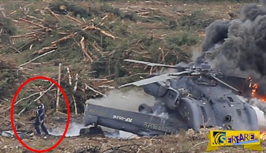 Συντριβή ελικοπτέρου στην κάμερα - Συγκλονιστικό βίντεο με τη στιγμή της τραγωδίας - Νεκρός ο ένας πιλότος!