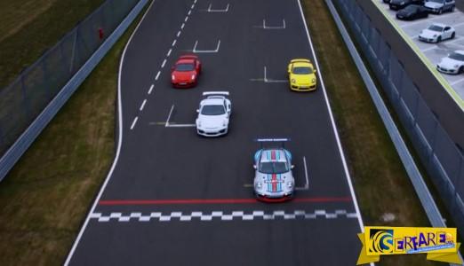 """Οι """"άγριες"""" Porsche μέσα στην πίστα!"""