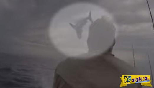 Ψαράς παραλίγο να πάθει.. ανακοπή – Δείτε το βίντεο ...