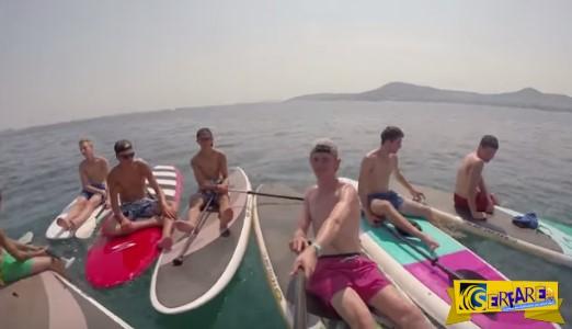 SUP: Η νέα μανία στις ελληνικές θάλασσες!