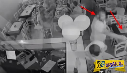 Βίντεο σοκ με βεντέτα στα Χανιά: Ο δράστης μπαίνει στο μαγαζί και πυροβολεί εν ψυχρώ!