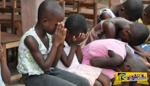 Οι αντιδράσεις των παιδιών από τη Ζάμπια όταν στο χωριό τους φτάνει για πρώτη φορά καθαρό, πόσιμο νερό!