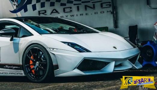 Παγκόσμιο ρεκόρ ταχύτητας η Lamborghini Gallardo!