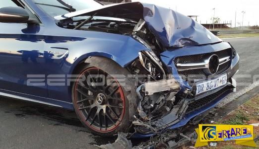 ΑΠΙΣΤΕΥΤΟ: Τράκαραν δυο Mercedes AMG την ώρα της παρουσίασης!